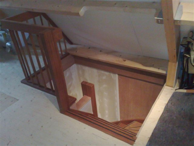 Trap for Van vlizo naar vaste trap